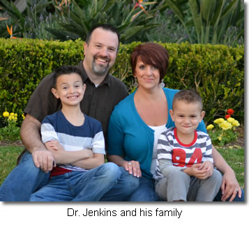 Dr. Jenkins and his family